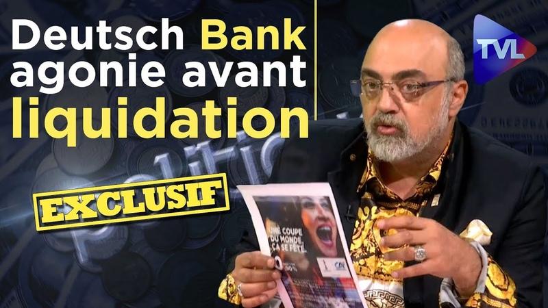 Pierre Jovanovic : Deutsch Bank agonie avant liquidation Poleco n°223