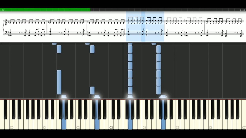 Muse - Feeling good [Piano Tutorial] Synthesia