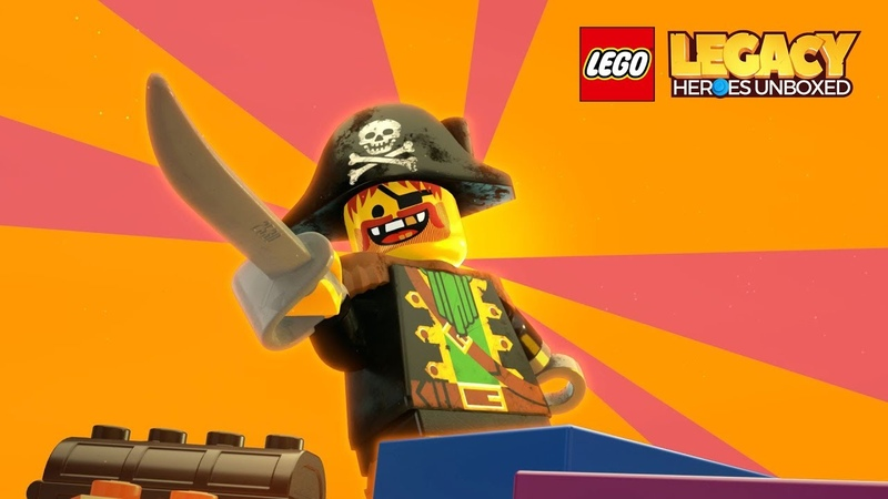 [BUYNEWGAMES]LEGO® Legacy Heroes Unboxed Official Teaser Trailer