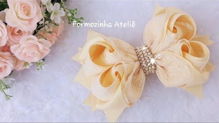 Laço boutique bambolê Love - Poly Formozo
