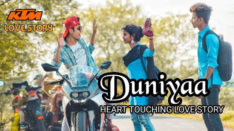 Duniyaa | School heart touching Love Story | Luka Chuppi | Akhil | Duniyaa full song | ST Creation