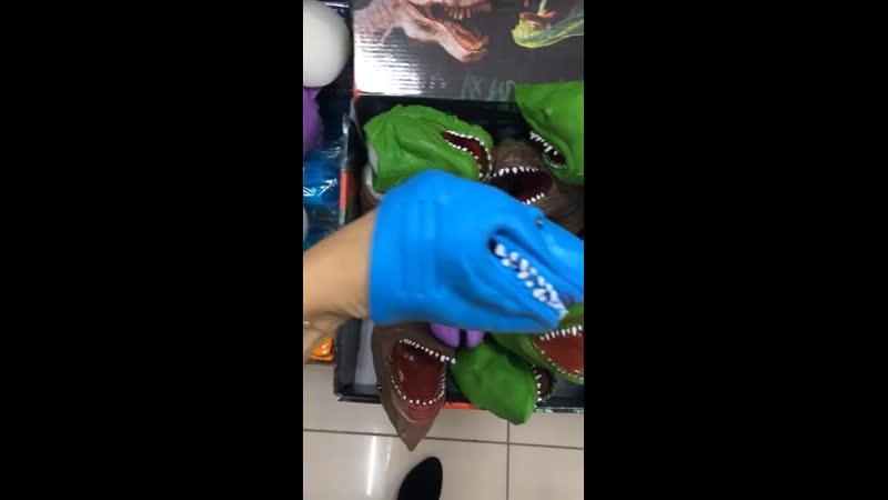 Рукозвери акула динозавр единорог