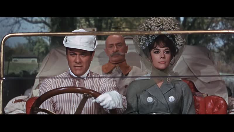 Х Ф Большие гонки The Great Race США 1965 Приключенческая комедия классика мирового кино Хороший многоголосый перевод