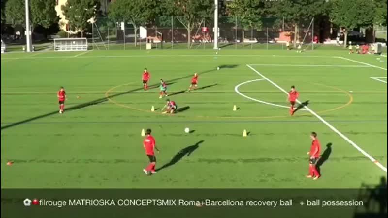 Футбольные упражнения на удержание мяча перехваты мяча 6 против 2