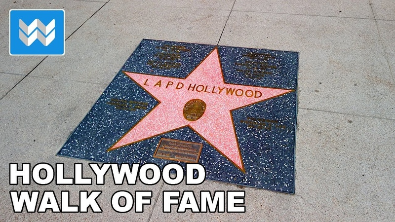 Is Hollywood Walk of Fame the WORST TOURIST ATTRACTION IN THE WORLD? Walking Tour 2019 🎧 【4K】