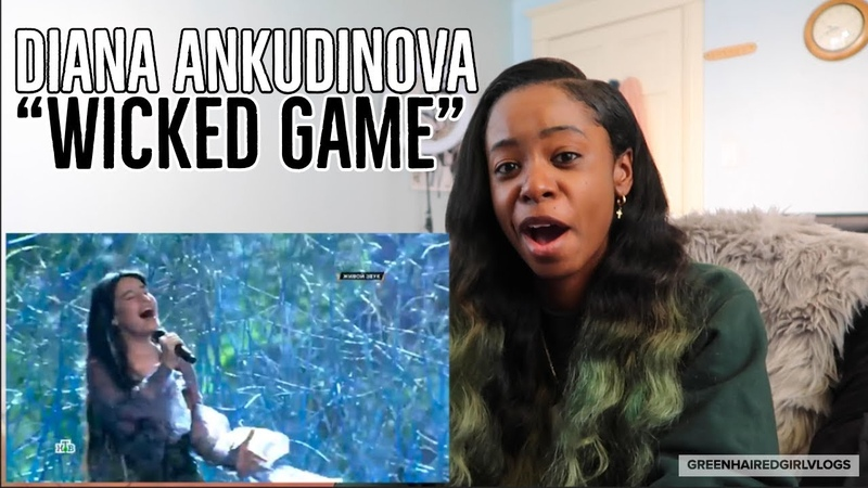 Ты супер Wicked Game Диана Анкудинова Diana Ankudinova 15 лет г Москва REACTION