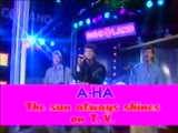 A-Ha - The sun always shine on TV - 1987
