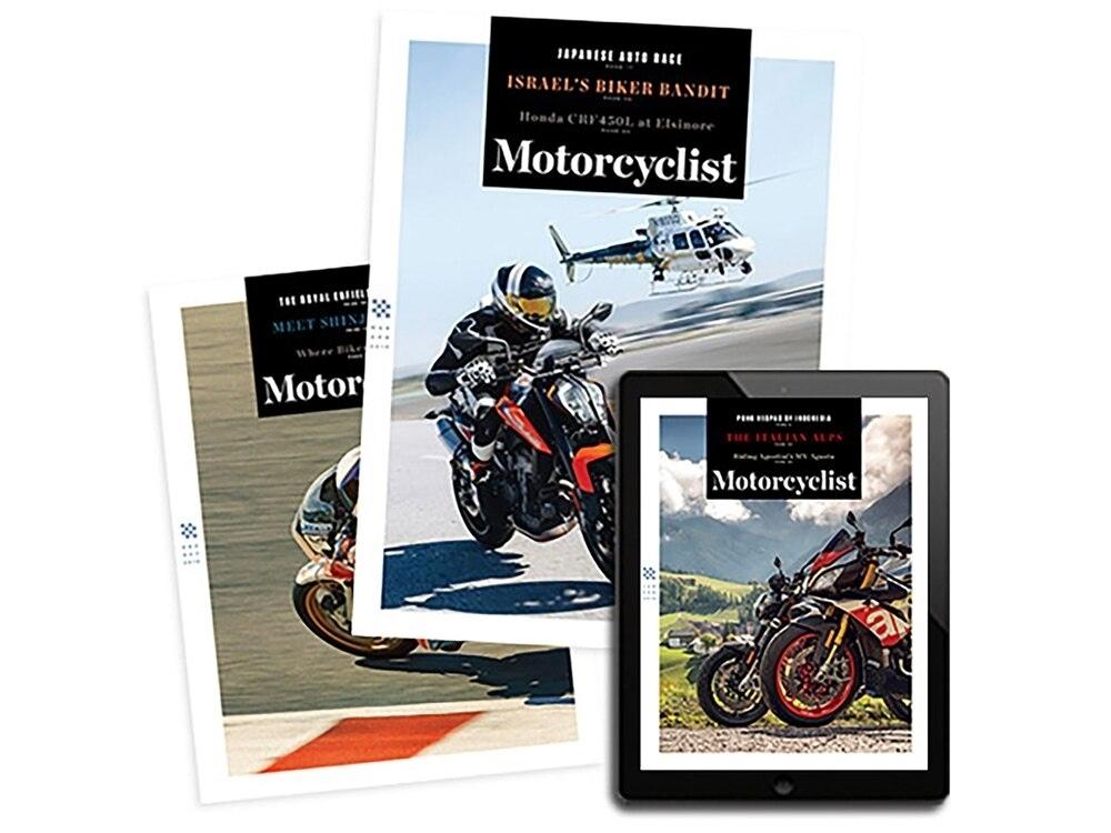 Мотожурнал Motorcyclist Magazine прекращает издаваться в печатном виде