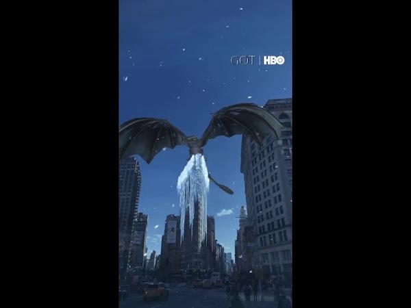 Landmarker at Flatiron Building NYC Game of Thrones