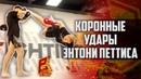 Коронные удары Энтони Петтиса Удар ногой от сетки Showtime kick