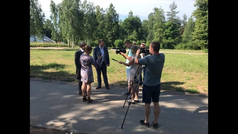 Зам Губернатора области Юрий Бобрышев посетил Боровичи с рабочим визитом