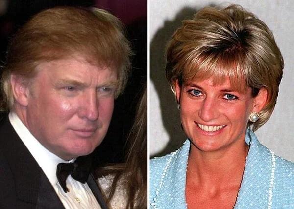 В свое время действующий президент США восхищался Дианой и не скрывал, что воспользовался бы малейшим шансом завести с ней роман.