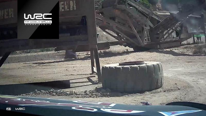 WRC * Ралли Италии * Онборд Ожье с шейкдауна