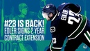 He's Back! Edler Signs 2-Year Deal with Canucks