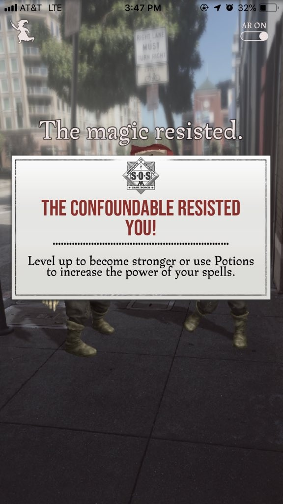Сохранение энергии в Harry Potter: Wizards Unite