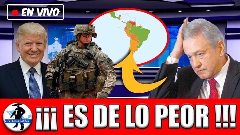 Se Revela Trump Buscaría Provocar Una Gu3rra Con Latinoamérica Vs México: Objetivo Provocar a AMLO