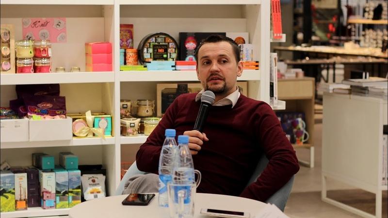 Евгений Захаров - ведущий. О работе в УРФУ, о мероприятиях и русском менталитете.