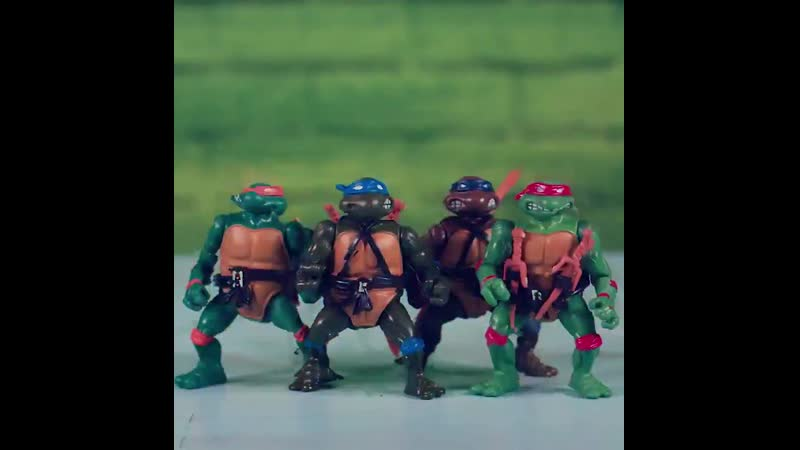 Generations of Ninja Turtles toys! Whats your favorite