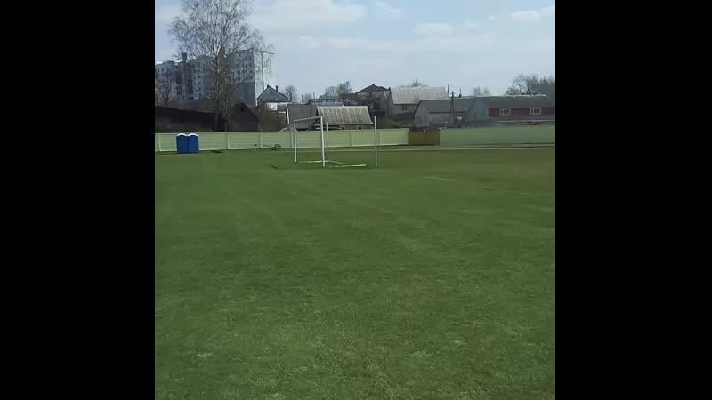Стадион в Дзержинске готовится к сезону