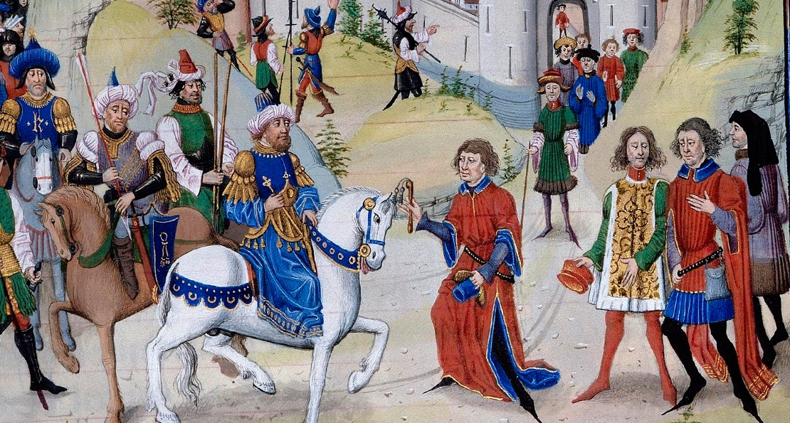 Саладин и рыцари