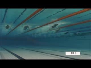 Sarah sjöström - sprint butterfly technique (underwater  slow motion)