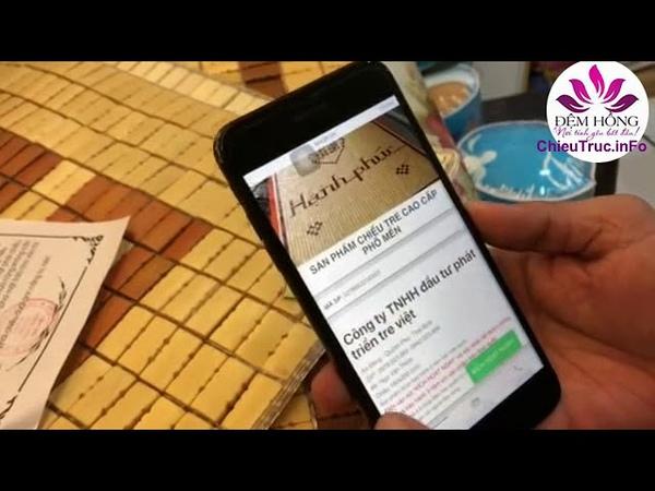 Check mã QR chiếu Tre Việt Phổ Mến Thái Bình