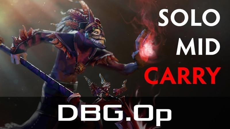 DBG.Op — Dazzle, Mid Lane (Jan 4, 2019) | Dota 2 patch 7.20 gameplay
