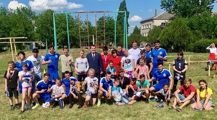 Минимущества и ФК «Динамо» провели праздник в  детдоме
