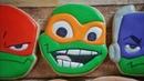 Michelangelo Cookie Rise of the Teenage Mutant Ninja Turtles
