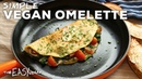 Quick Simple Vegan Omelettes with GF option