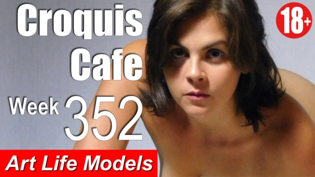 Croquis Cafe Figure Drawing Resource No. 352