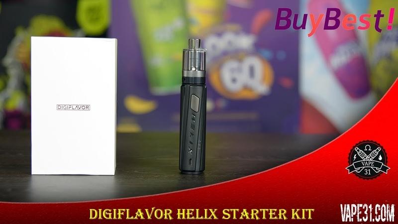 Digiflavor Helix Starter Kit и LUMI tank от Geekvape интересное решение Vape31 Review