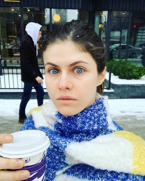 Встречаем очередное зимнее утро с Александрой Даддарио