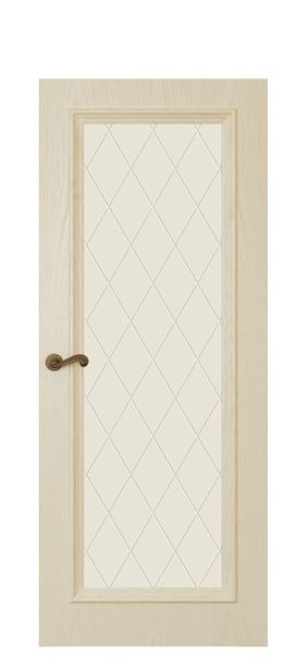 Дверь Магнолия 4, слоновая кость
