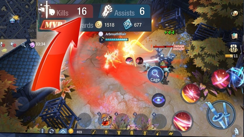 16 Kills6 Assists - Survival Heroes (Gameplay iOS). This Is MOBA Battle Royale