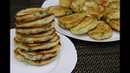 Закусочные Оладьи с Зеленым Луком и Яйцом на Кефире