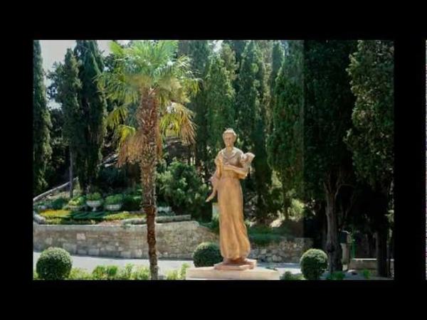 Парки, мыс Плака, дворец княгини Гагариной, храм