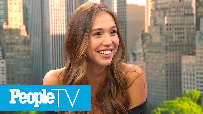 Alexis Ren's Hilarious (And Painful) Moment She Found Out She Would Be An SI Swim Model   PeopleTV