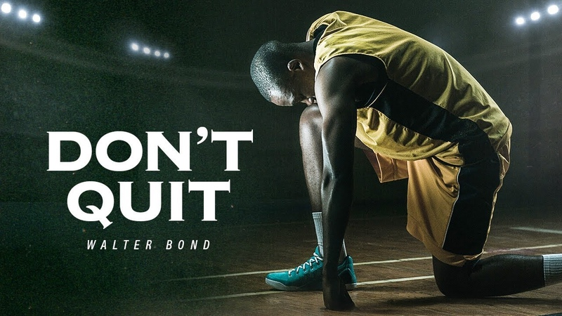 I WASNT RAISED A QUITTER - A Tribute to Dad | Former NBA Athlete Walter Bond Motivational Speech