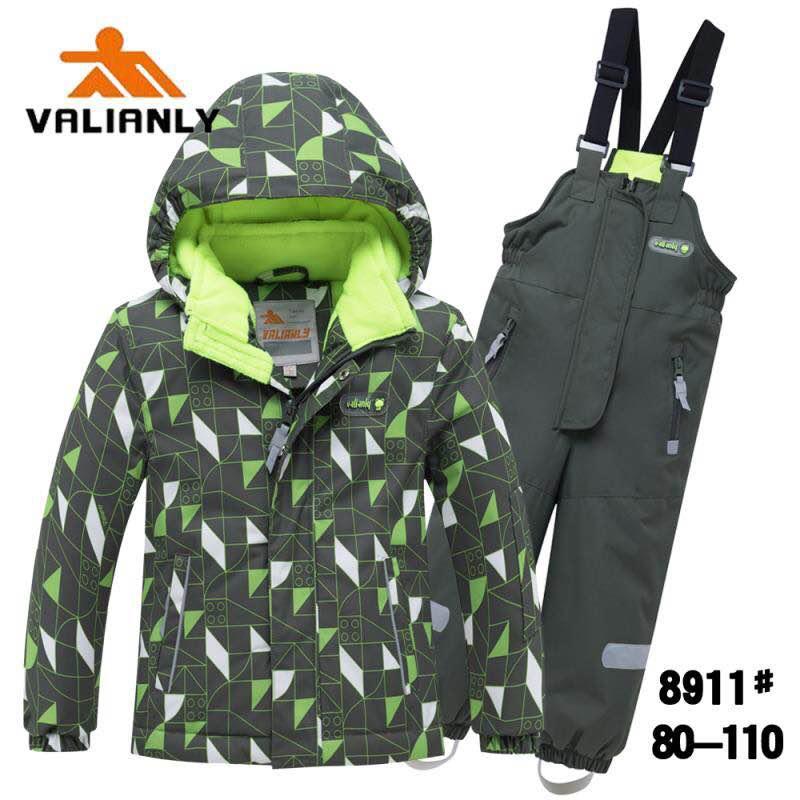 Зимний комплект Valianly 8911 зеленый