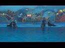 Танец дельфинов и морских котиков 😁🤗🤗