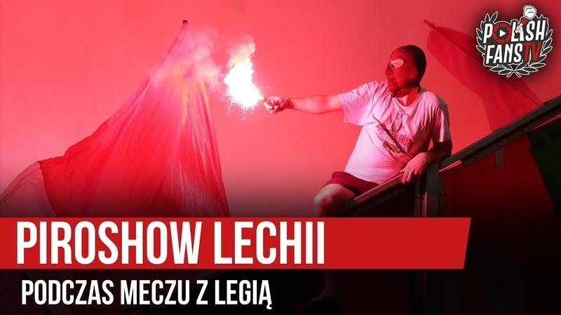 Piroshow Lechii podczas meczu z Legią 27 04 2019 r