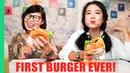 Vietnamese Girls Try Cheeseburgers for the FIRST TIME HUGE Saigon Burger Tour in Vietnam!