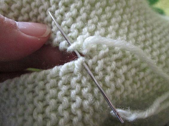 Как сшивать вязаные изделия красиво