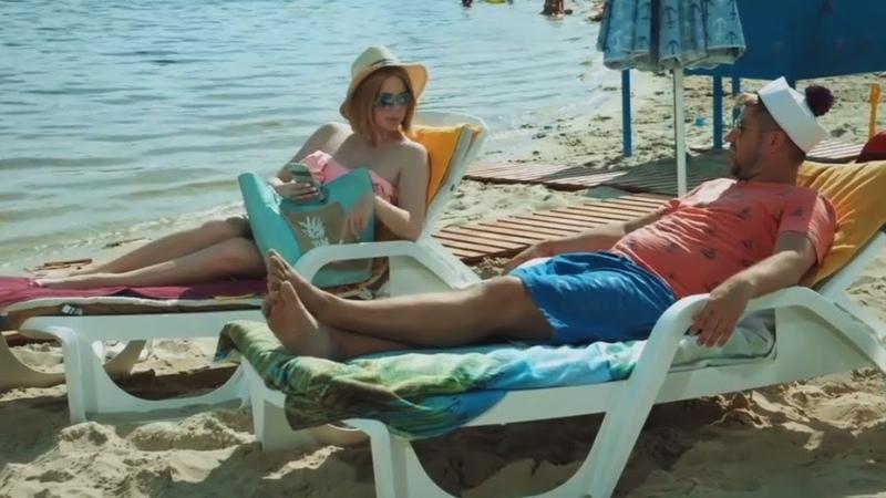 ☀ Муж и Жена на пляже - Жаркое лето 2019 - Подборка приколов на отдыхе - На Троих Лучшее