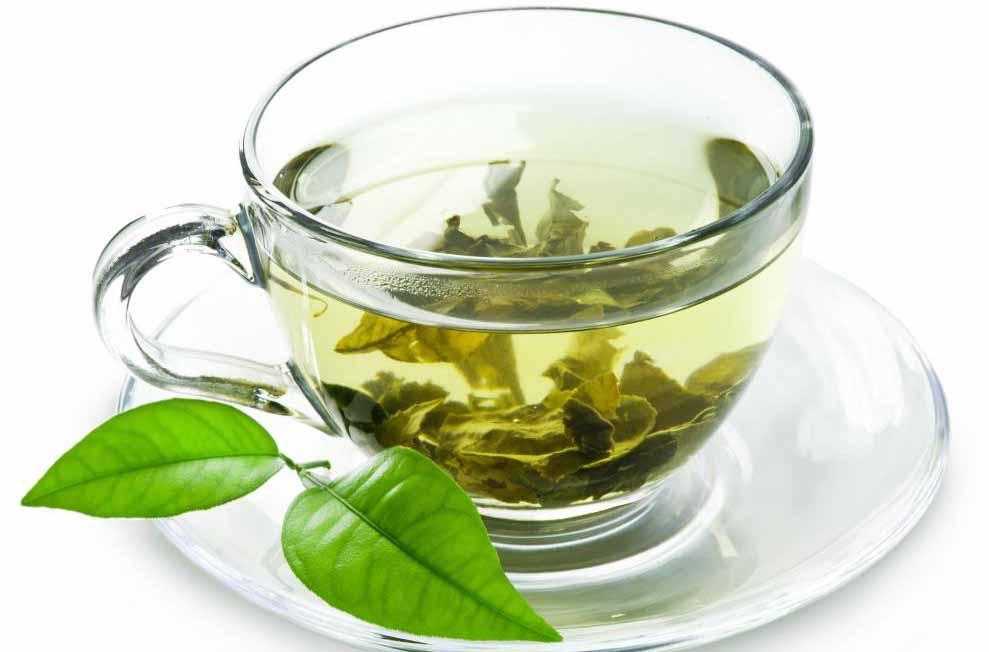 Белый чай.