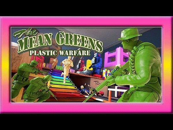 Стань игрушечным ВОИНОМ! The Mean Greens - Plastic Warfare - мое мнение!