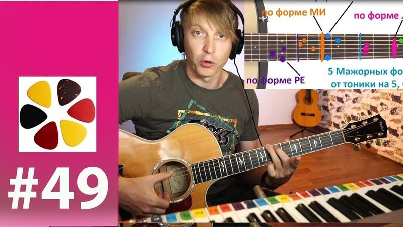 49 Урок - Аранжировка, как брать необычные аккорды, теория- просто.