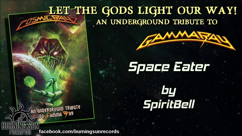 SpiritBell - Space Eater (Gamma Ray cover)