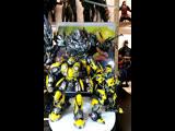 Стрим Обзор фигурок Bumblebee (Transformers: The Last Knight) от ThreeA и Донателло 1/6 от студии DreamEX.